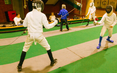 Encouraging excellence at the UK's Premier Fencing Club