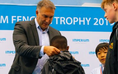 First junior Imperium Fencing Trophy for London Cup held at Whitgift