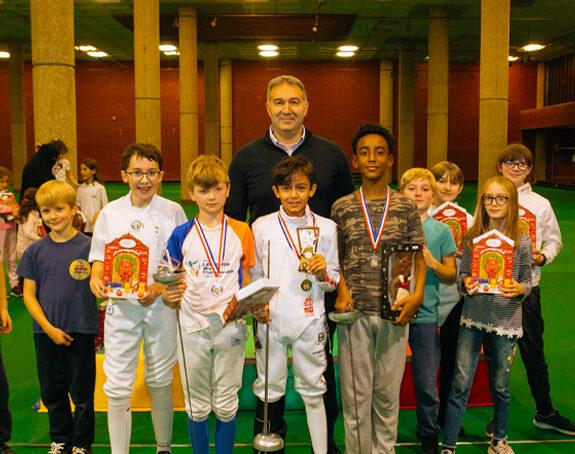 Founder of the Leus Family Foundation, Dimitry Leus FRSA, is also honorary president of Brixton Fencing Club Founder of the Leus Family Foundation, Dimitry Leus FRSA