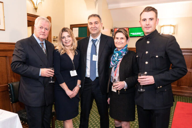 The event was hosted by Colonel Bob Stewart MP and supported by Imperium Investments, represented by their director Dmitry Leus.